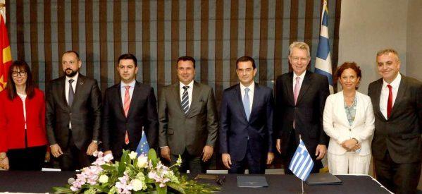Με υπογραφή Σκρέκα ο αγωγός φυσικού αερίου Ελλάδας – Βόρειας Μακεδονίας
