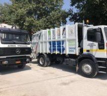 Nέα απορριμματοφόρα για τον Δήμο Τρικκαίων