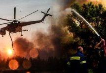Οι δήμοι που καίγονται στη Β.Εύβοια είχαν απορρίψει απόφαση της ΡΑΕ για αιολικά πάρκα πριν 15 μέρες!