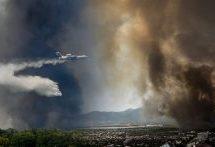 Σε Θρακομακεδόνες, Τατόι και Ολυμπιακό Χωριό η φωτιά
