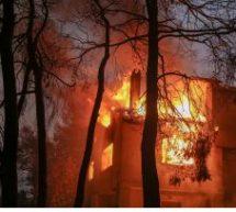 Φωτιά στην Εύβοια: Στο έλεος της πύρινης κόλασης χωριά – Καίγονται σπίτια
