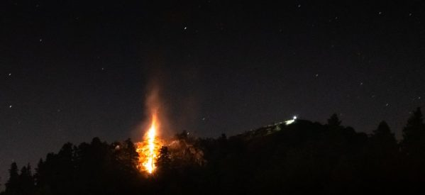 Νέα αναζωπύρωση της φωτιάς στα Στουρναραίικα Τρικάλων