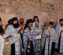 Υποδοχή τής ιερής εικόνας της Παναγίας στην Καλαμπάκα