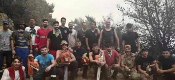 """Οι """"Πριονάδες"""" – Αυτά τα νέα παιδιά έσωσαν μία ολόκληρη περιοχή στην Εύβοια από τις φωτιές"""