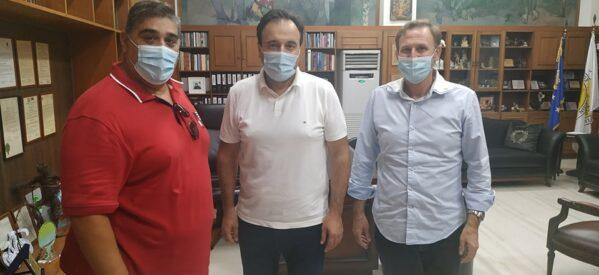 """Τον Δήμαρχο Τρικκαίων επισκέφτηκαν μέλη της πολιτικής κίνησης """"εΜείς"""""""