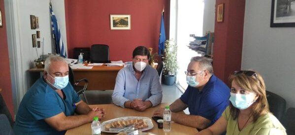 Επίσκεψη του Γ. Λαμπρούλη σε δημόσιες δομές Υγείας των Τρικάλων