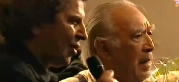 Μίκης Θεοδωράκης: Όταν χόρεψε με τον Άντονι Κουίν το συρτάκι του Ζορμπά (Video)
