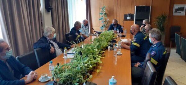 Έκτακτη σύσκεψη στην Π.Ε. Τρικάλων για την κακοκαιρία